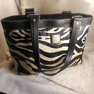 Authentic Zebra Dooney & Bourke Purse Handbag